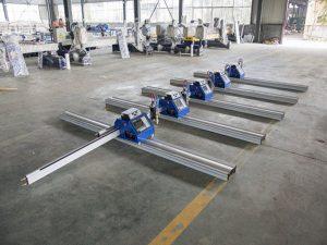 Prenosni CNC plazemski rezalni stroj za rezanje debele kovine 6 - 150 mm