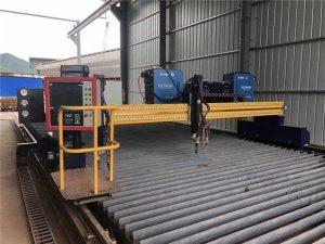 Samodejni CNC stroj za rezanje plazme z dvojno vožnjo 4 m razpona 15 m tirnic