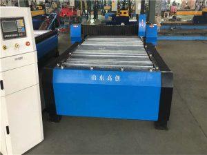 Kitajska Huayuan 100A plazma CNC stroj za rezanje 10 mm kovinske plošče