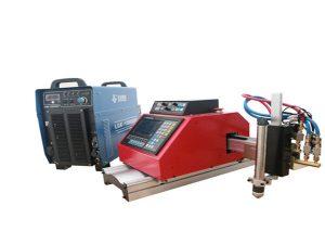 Prenosni CNC FlamePlasma rezalni stroj z majhno ceno