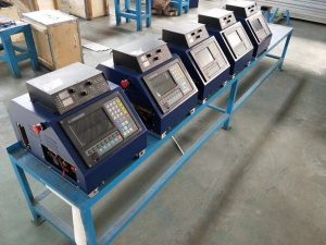 Prenosni CNC plazemski rezalni stroj, učinkovit stroj za rezanje plamena