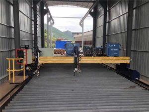 Natančni CNC plazemski rezalni stroj natančno 13000mm s servo motorjem