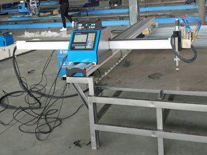 kitajski dobavitelj hitri hitrost prenosni CNC plazemski rezalni stroj na Kitajskem