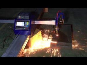 nizkocenovni mini prenosni cnc cevni plamenski stroj za rezanje kovin iz nerjavečega jekla