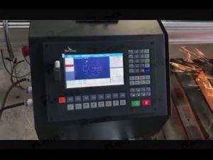 prenosni cnc flameplasma stroj za rezanje s servo motorjem